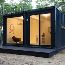 Low cost prefab tiny container house 20ft