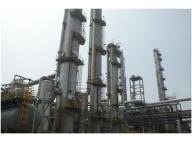 Crude methanol refinery technology