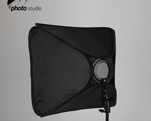 Foldable Speedlite Softbox with Hot Shoe Mount YB201