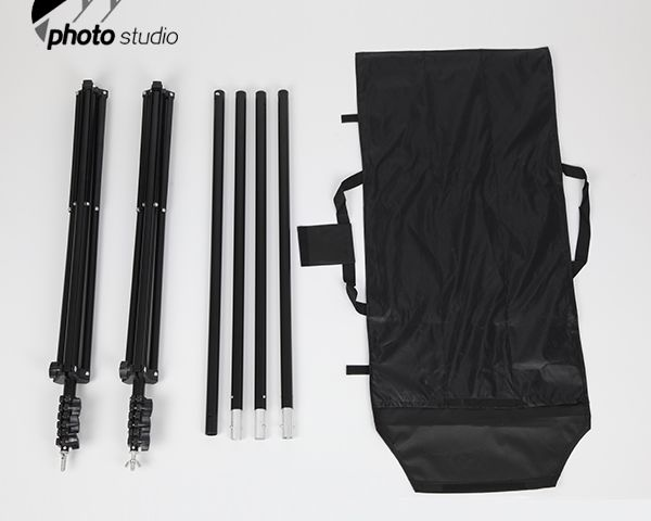 Durable Photo Studio Backdrop Support System 2.4m(H) x 3m(W) YS502