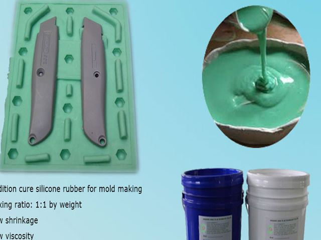 Cheap price two component silicone rubber liquid for model making