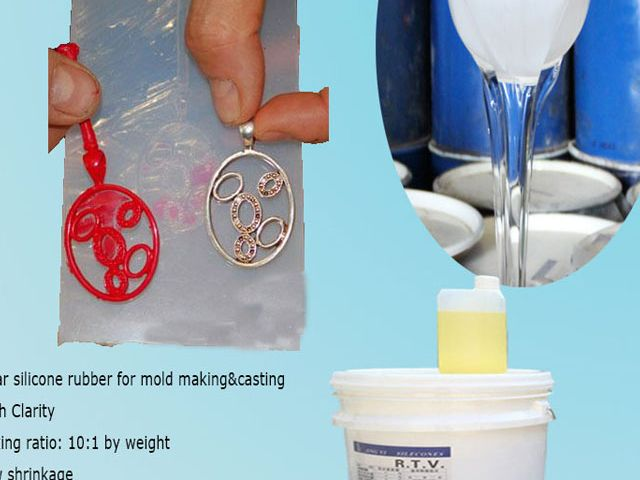 Platinum Cure rtv2 Silicone Rubber for Jewelry Molding