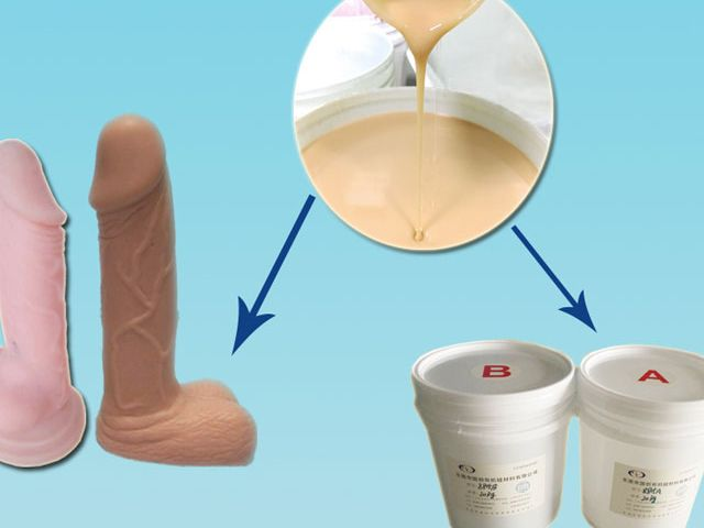 Soft skin safe liquid silicone rubber for sex dolls