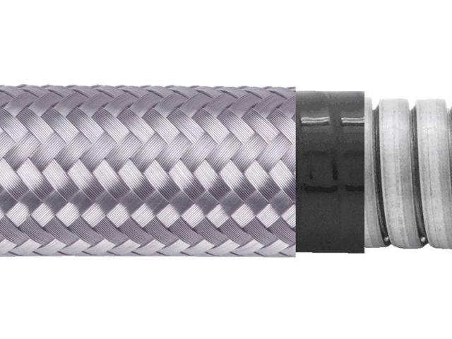 Flexible Metal Conduit Water + EMI Proof - PAG23PVCTB Series