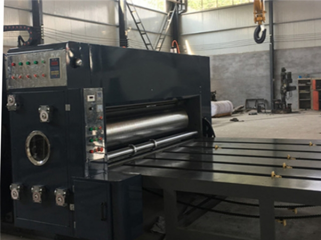 Automatic feeding flexo printer with slotter