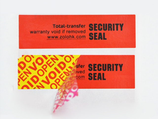 Total-Transfer VOID Labels