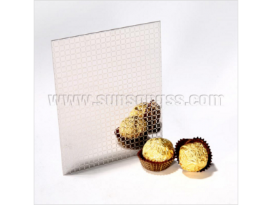 Mirror Etching Silver stainless steel sheet