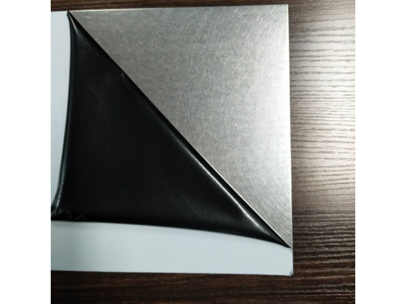 Vibration Silver Stainless Steel Sheet