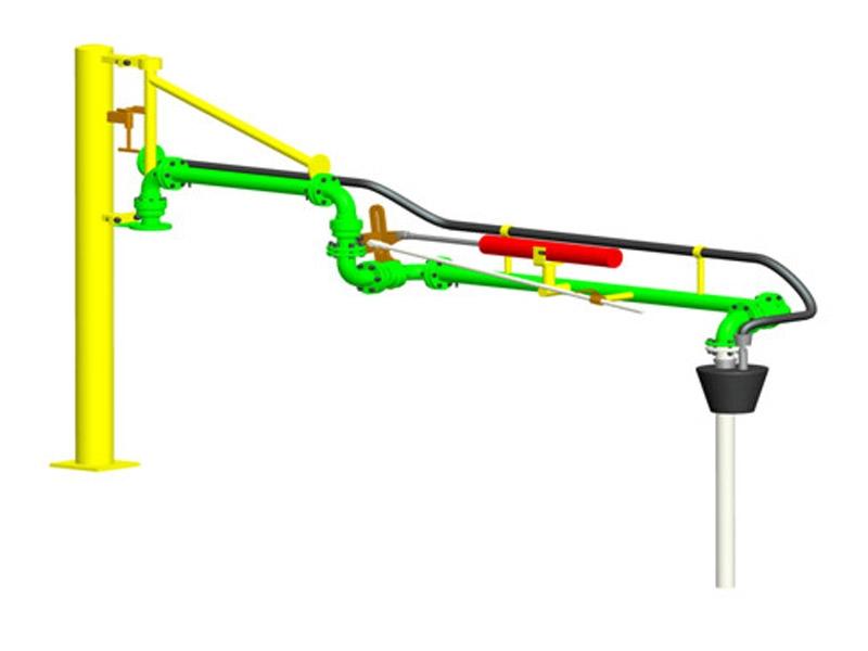 AL1412 lining PTFE loading arm