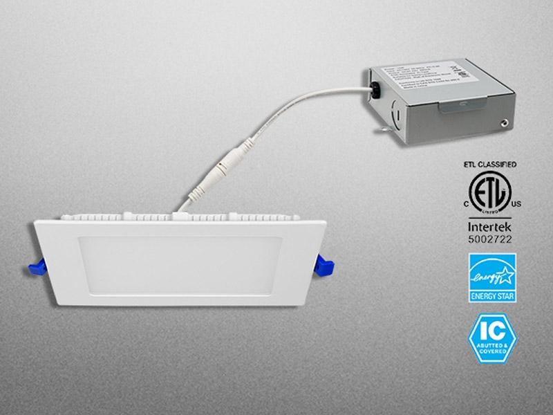 Standard LED Flat Square Downlight