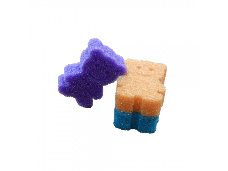 Soft in Warm Water Temperature Sensitive Scrubber Sponge