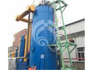 city waste plastic gasifier