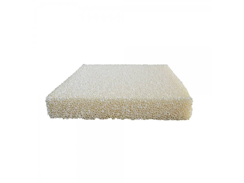 PU Polyurethane Reticulated Silicone Coated Filter Foam