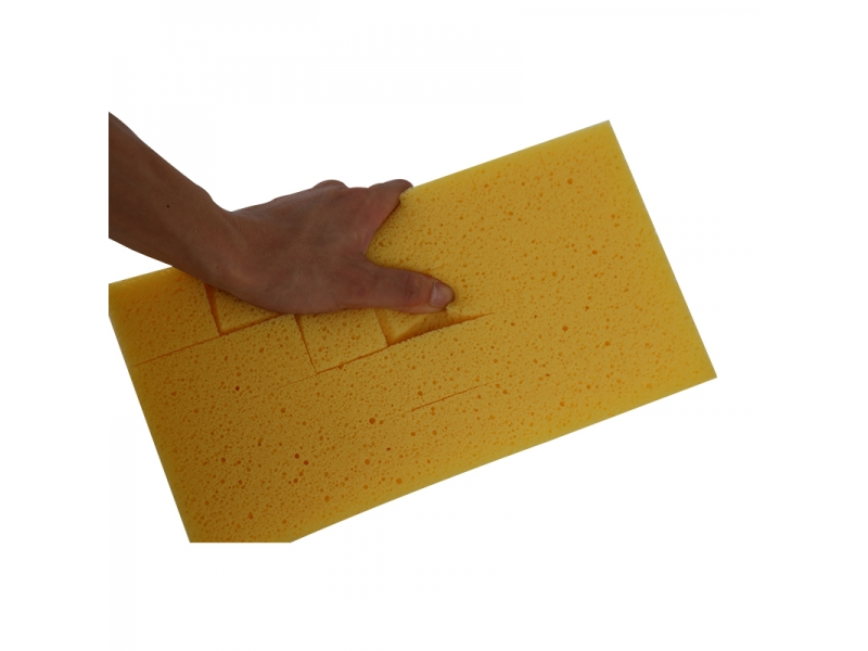 Slit Grouting Sponge Floor Sponge with Handle
