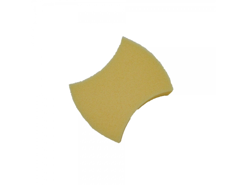 Butterfly Shape Stronge Cleaning Tile Dual Using Sponge