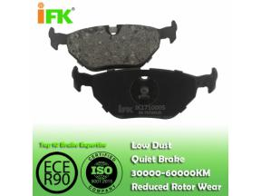 34211165233/GDB1343/GDB1189/D396/D692 Semi-metallic/Low-metallic/NAO/Ceramic Disc brake pad manufact