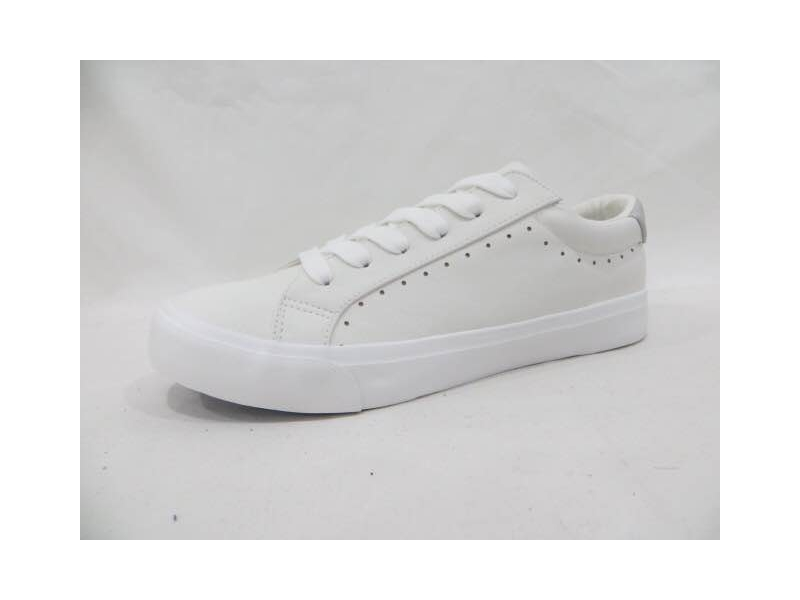 Canvas Shoes 2018 New Design Fashion Wholesale White men and women Casual Rubber ZY03