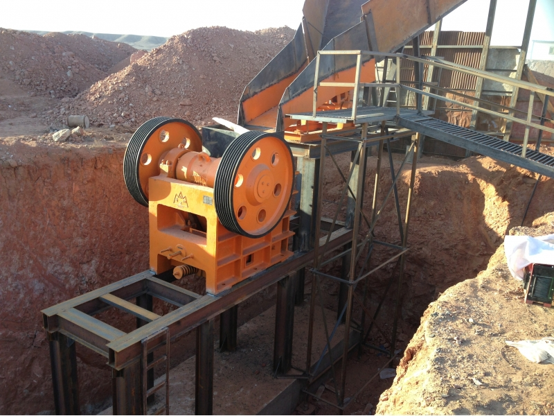 Vibrating Feeder for crushing
