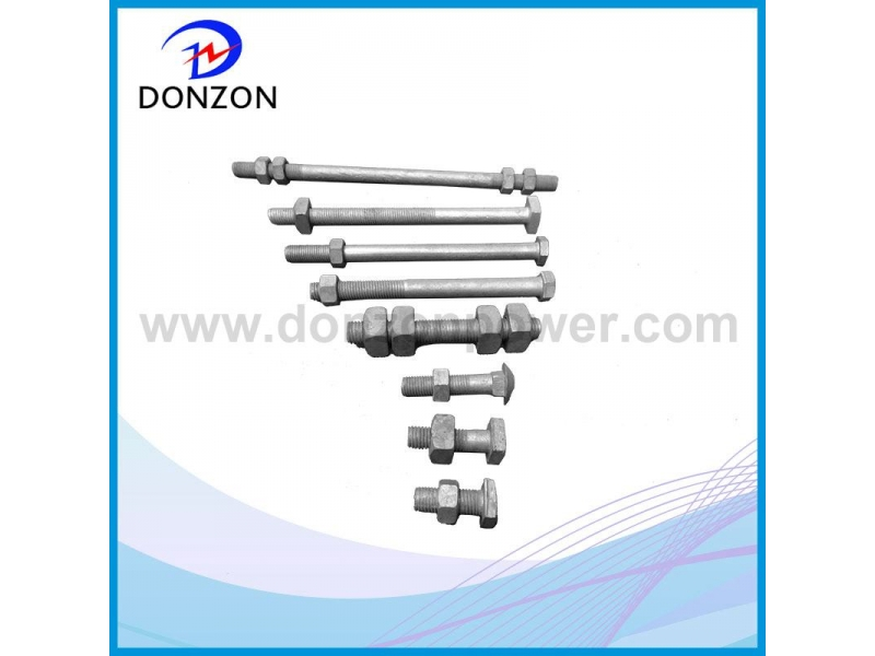 Carrige/Square /hex Galvanized Stall Bolt
