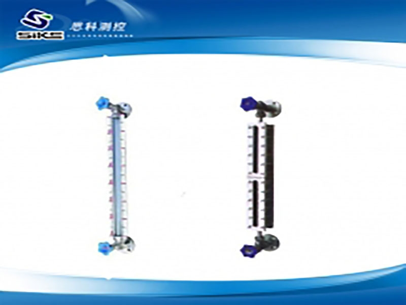 Glass tube (plate) liquid level gauge
