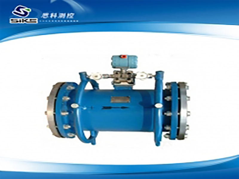 Annular orifice flow meter