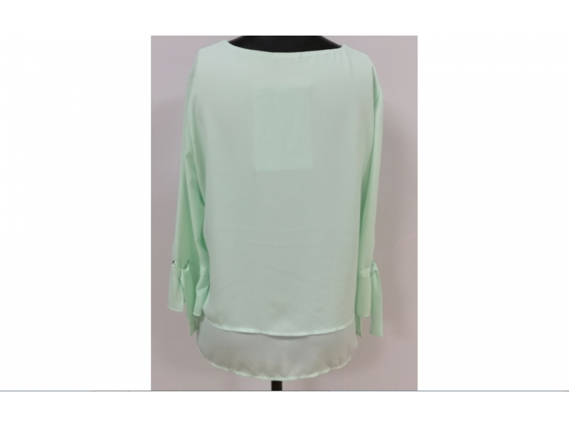 Women's woven long sleeves top
