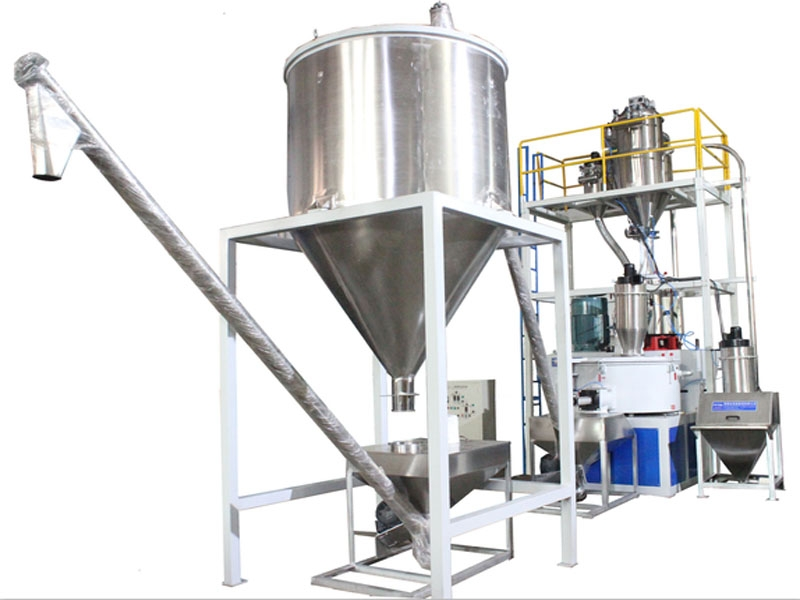 PVC Auto Feeding Weighing Mixing PVC Compounds Weighing Dosing Conveying System