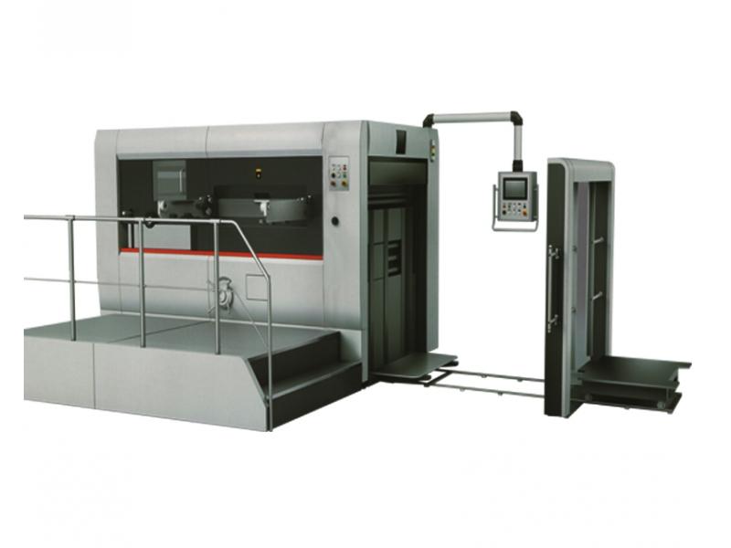 Semi-automatic die-cutting and creasing machine