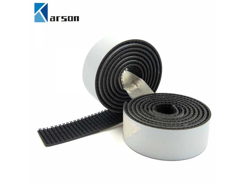 Custom Die Cut 3M Black Dual Lock Single Sided Rubber Adhesive Reclosable Fastener SJ3542 for Indoor