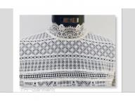 Women's knitted long sleeve top