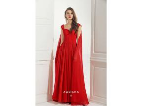 Sweetheart Neckline Deep V Back Floor-Length Silk Evening Dress  Silk, Beads