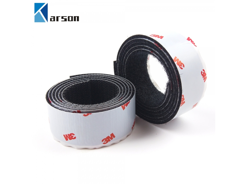 Brilliant Quality Black 3M Adhesive Tape Sj3526/Sj3527 Double Side Hook And Loop