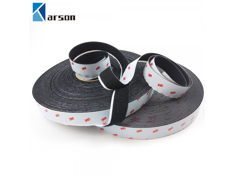 Original 3M Product Black  Sj3526N Sj3527N Self Adhesive Magic Tape Roll Hook And Loop Strap