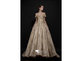 Sweatheart Neckline Satin  Ball Gown  Evening Dresses  Lace