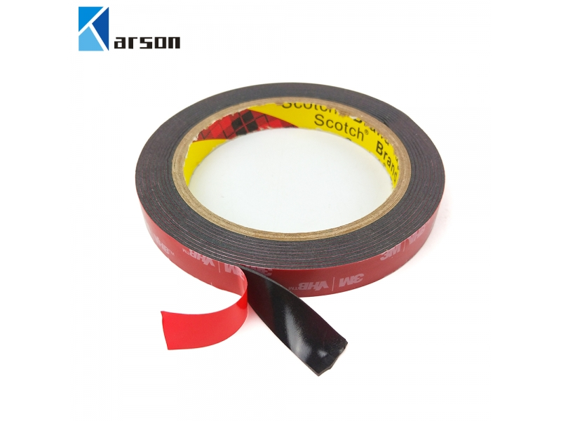 Stock Hot Sale 3M Brand Vhb 5952 Black Double Sided Acrylic Adhesive Foam Tape For Die Cutting