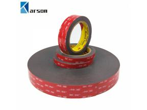 3M 5952 VHB Double Sided Tape Heavy Duty Adhesive Acrylic Foam Black Tape Good For Car Camcorder DVR