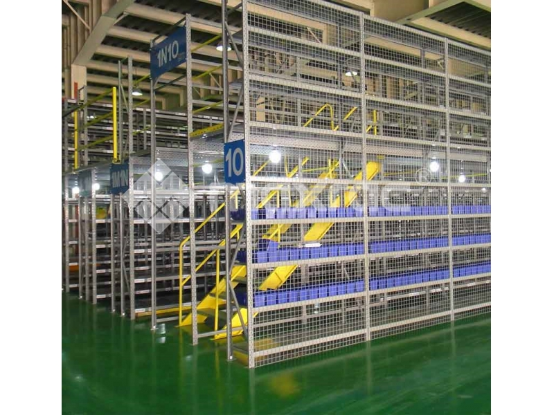 Racking supported mezzanine,Steel Structure Mezzanine,Customized Steel Structure Mezzanine