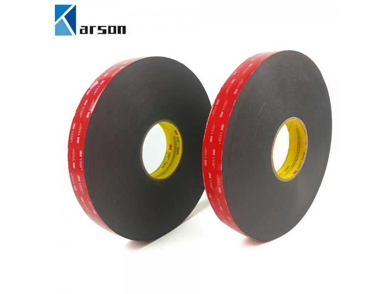 10mm x 33m 1Roll ,Thickness 0.4mm ,3M Dark Gray Color Acrylic Foam Double Side Tape 3M 5915