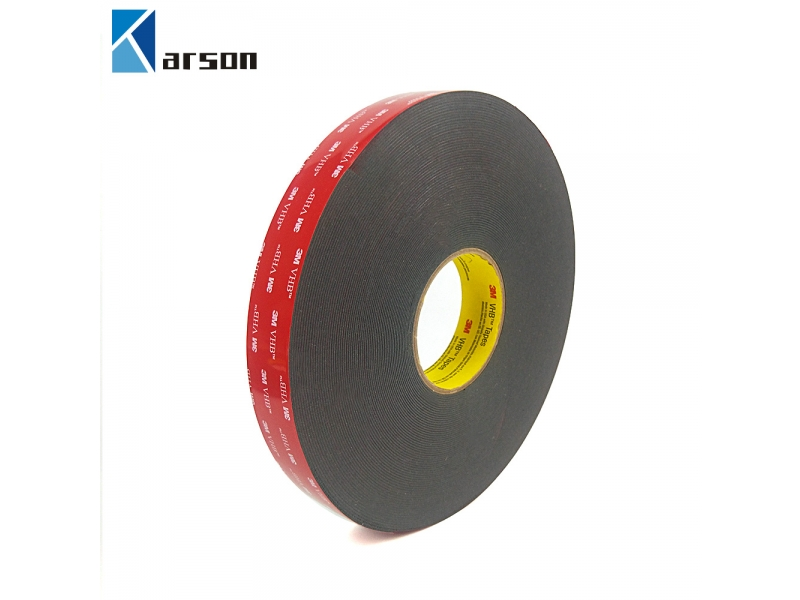 3M VHB Double Sided Die Cut High Quality Adhesive Tape Thickness 0.4MM Black Color