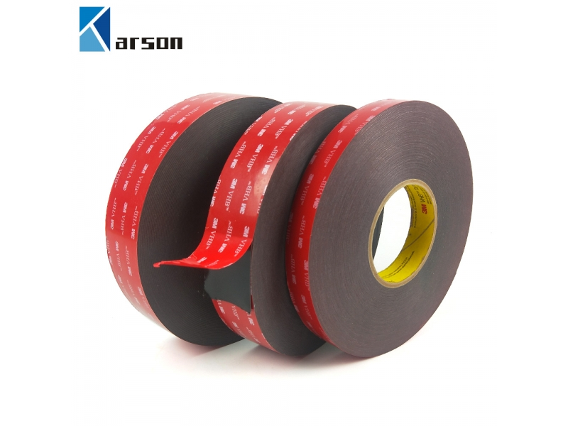 Custom Round Or Sheet 3M 5925 Vhb Double Sided Tape, Grey, 0.64Mm Thickness