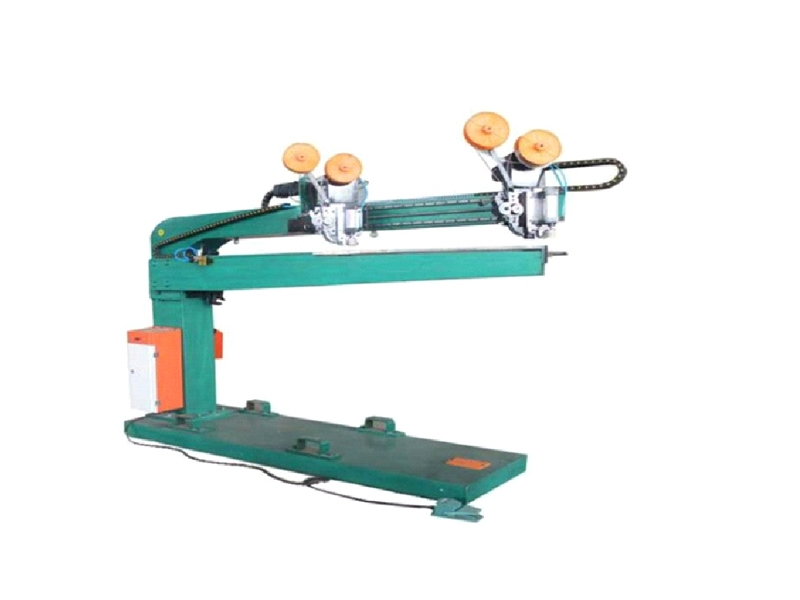 Double servo manual high-speed nailing machine
