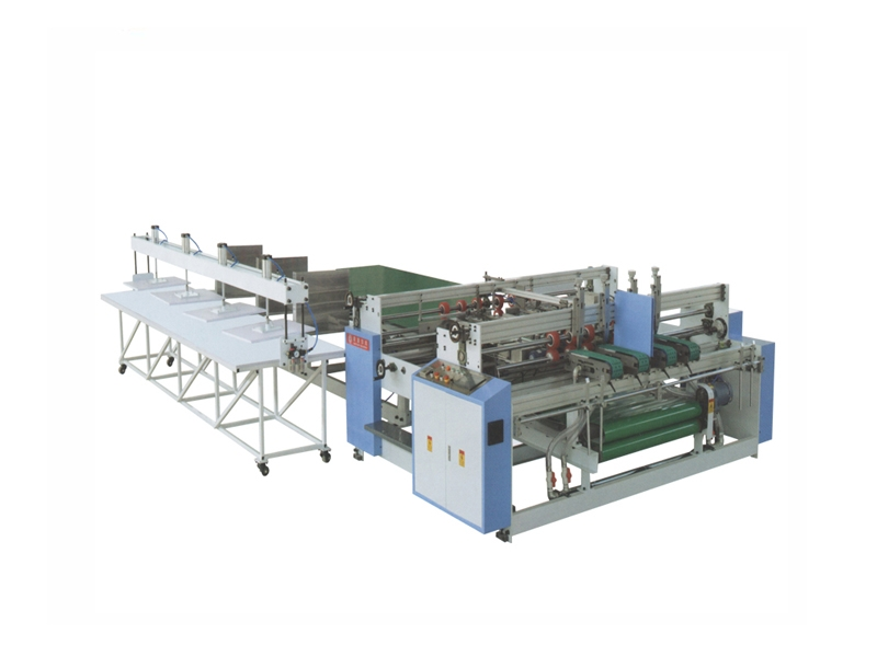 Semi-automatic carton folder gluer machine