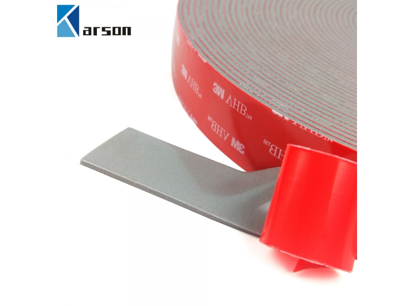 stock 3M VHB 4991 Tapes utilizes multi-purpose acrylic adhesive on both sides 2.3mm thickness