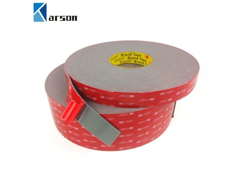 Acrylic Strong Adhesive Double Sided Waterproof 2.3mm thick 3M VHB 4991 Tape Gray