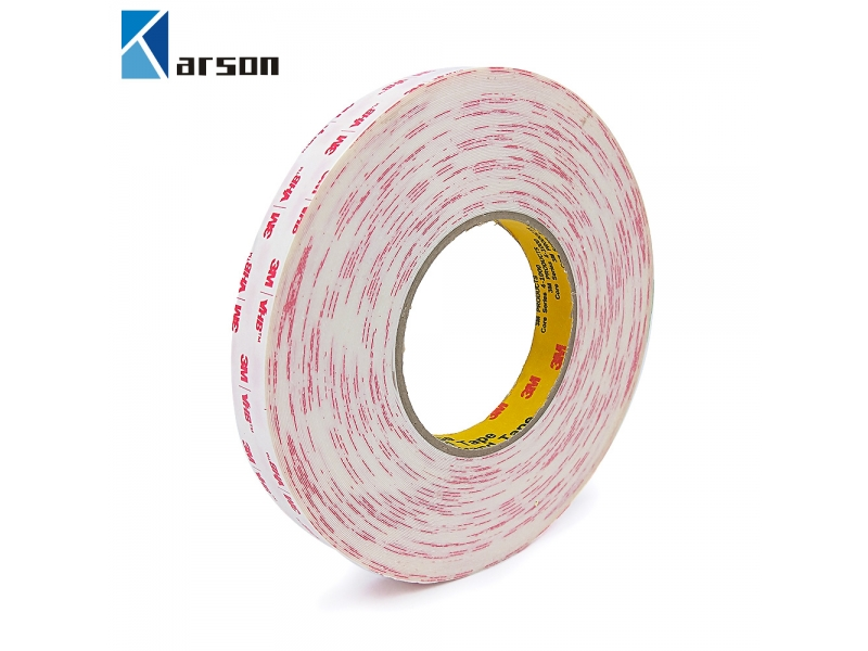 3M 4920 VHB Tape, white, 0.4mm thick for bonding bare metals and plastics