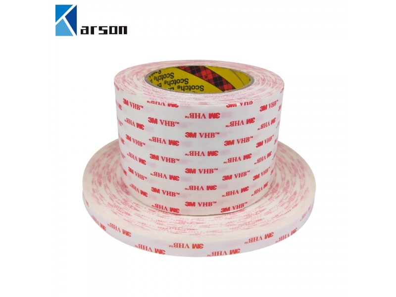 3M 4950 1.10MM Thick VHB Foam Tape White Color acrylic glass