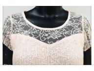 Women's knitting short sleeve  top
