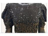 Women's knitting short sleeve  dress