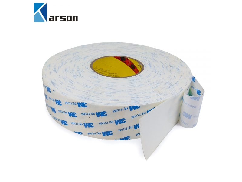 3M Double coated PE foam tapes 1600T white color 1.0mm thick