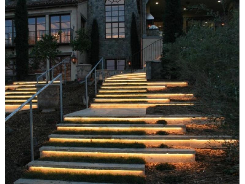 led strip aluminium for stair lighting